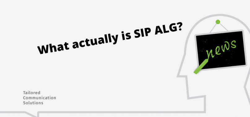 What Is SIP ALG?